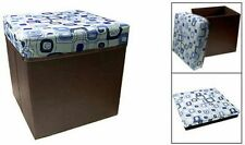 BEAUTIFUL FOLDABLE STORAGE STOOL