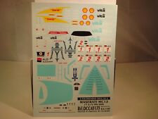 "DECALS 1/43 MASERATI MC12  #1 ou #2 ""VITAPHONE"" SPA  2008   - COLORADO  43173"