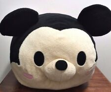 Disney Tsum Tsum Large Mickey Mouse Plush Mickey Mouse Stuffed Toy/Pillow EUC