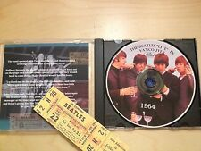 """The Beatles """"Live 1964 Vancouver, BC.  80 minutes  Extremely Rare Recording"""