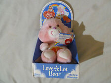 NEW IN BOX WITH TAG CARE BEAR LOVE A LOT PLUSH VINTAGE KENNER 1984 NWT NIB 61080