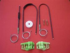 BMW E46 Compact window regulator repair kit cable & clips / front right