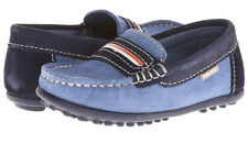 Pablosky Kids 103625 Suede Mocassins Shoes Size 10 US, EU 27, 18 cm, Potugal,NIB