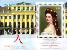Sisi / Kaiserin Elisabeth - Sonderbriefmarken Block aus Österreich
