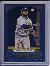 JOSE REYES 2014 Topps Gypsy Queen BLUE PAPER FRAME #'d /499 Toronto Blue Jays
