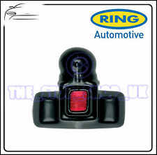 Ring Towing Caravan PVC Tow Ball Boot Cover with Red Reflector RCT751