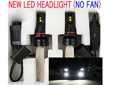2X NEW CREE LED Headlight Kit Light Lamp H1 H4 H7 H9 9005 H11 6000K White NO FAN