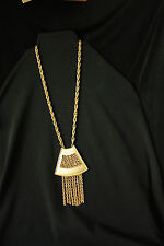 Hillcraft  Gold Tone  Necklace