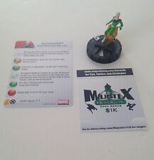 Heroclix Chaos War set Quicksilver #032 Rare figure w/card!