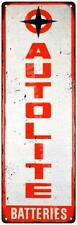 Autolite Batteries Vintage Reproduction Metal Sign 6x18 6180394