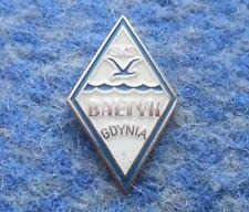 BALTYK GDYNIA POLAND FOOTBALL FUSSBALL VOLLEYBALL BASKETBALL SILVER SMALLER PIN