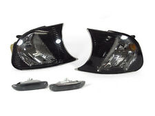 Depo 00-01 BMW E46 2D/Convertible Crystal Smoke Corner Signal+Side Marker Light
