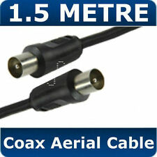 1.5M METER TV/AV Aerial Male To Male Antenna Coaxial Cable