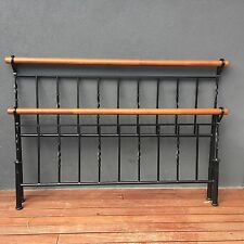 Wrought Iron Double Bed Frame- Good Condition