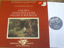 9502 042 Albinoni 4 Concerti for 2 Oboes Op. 9 / Holliger / Bourgue / I Musici
