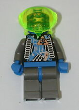 Lego Mini Figure Green Helmet Robot R3411
