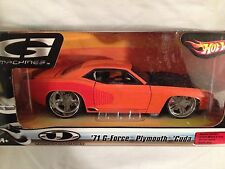 Hot Wheels  G Machine  '71 G-Force Plymouth Cuda         1/24