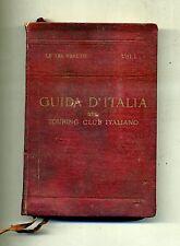L.V.Bertarelli # LE TRE VENEZIE # Touring Club Italiano Milano 1920 # 1A ED.