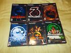 NO GAMES!! Mortal Kombat Collection PSX Sony Playstation PS1 Artwork Trilogy