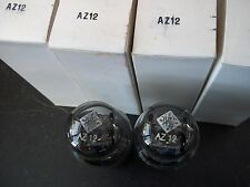 Radio Vacuum Tubes    AZ12 TELEFUNKEN   (2) NOS   (13  available)