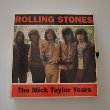 ROLLING STONES - The Mick TAYLOR years - 1994 UK LTD EDITION BOX 4CDs MINI LP
