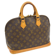 AUTHENTIC LOUIS VUITTON ALMA HAND TOTE BAG PURSE MONOGRAM M51130 VINTAGE A30054