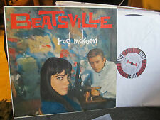 BEATSVILLE RARE LP ROD McKUEN BEATNIK KEROUAC BEAT HI-FI JAZZ Art Folk R419 '59!