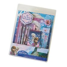 NEW NIP Disney Frozen 11 Piece Back to School Stationary Set Lots of Elsa!