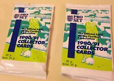 "Pro Set Soccer ""Football"" Association Unopened Card Pack 1990/91 Collecter Cards"