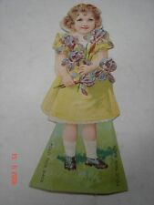 C.A. DORNEY FURNITURE CO. - Allentown, Pa - Paper Standing Doll Flowers