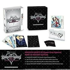 Kingdom Hearts 3D Dream Drop Distance Mark of Mastery Edition [Nintendo 3DS] NEW