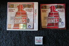 3DS : JAMES NOIR'S HOLLYWOOD CRIMES 3D - Completo, ITA ! Compatibile con 2DS