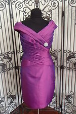 V84 JADE COUTURE K4477X SZ 14 FIG $360 #13481WP   FORMAL GOWN DRESS