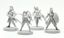 4 x KIT ARMURE PHENIX  - KINGDOM DEATH MONSTER miniature rpg jdr PHOENIX ARMOR