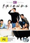 Friends: Season 3 (DVD, 2010, 4-Disc Set), NEW REGION 4
