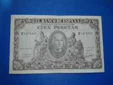 SPAIN P-118a BILLETE 100 PESETAS 1940 CRISTOBAL COLON EBC- SERIE C 1913661