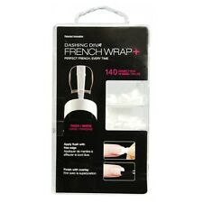 Dashing Diva French Wrap Plus - Thick French Band - White - 140ct - DFWP001