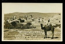 Israel CANA of GALILEE Camel and Town early RP PPC