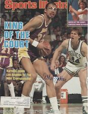 Kareem Abdul-Jabbar Lakers NBA SIGNED AUTOGRAPH Sports Illustrated Cover AFTAL