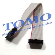 1 Cavo a nastro Flat cable cavo piatto IDC 14 poli 17cm pronto