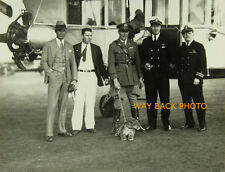 "5"" by 7"" REPRINT PHOTO OF ROSCOE TURNER WITH YOUNG PET LION CUB GILMORE - NICE"