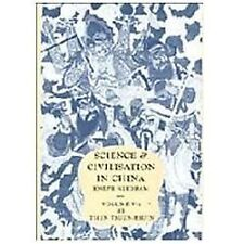 Science and Civilisation in China: Chemistry and Chemical Technology Pt. 1 :...