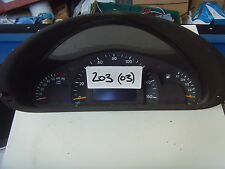 MERCEDES C CLASS W203 INSTRUMENT CLUSTER CLOCKS  A2035408011