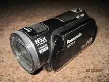 Panasonic HDC-SD20 Hi Def Flash Media Caméscope. défectueux!!!