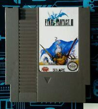 Final Fantasy III 3 English Translated Cart Nintendo (NES)