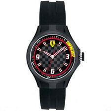 Ferrari Scuderia 0820001 Pit Crew 38mm Black Silicone Strap Children #BigRush