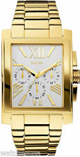 Guess Men's U0009G2 Stainless Steel Gold-Tone Classic Dress Watch
