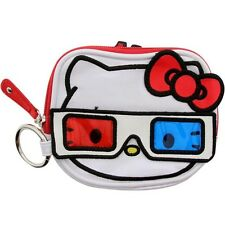 Hello Kitty 3D Coin Bag (white / red / blue)