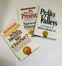 Who Moved My Cheese? - Peaks&Valleys - The Present - all by Spencer Johnson