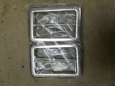 Silver metal rectangle bar buckles, belts, arts crafts, sewing  x 4